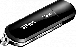 Накопитель USB Silicon Power 32GB Luxmini 322 black