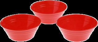Набор тарелок Patio (роза) (комплект 3 шт.) 218-178 13346000 ИК