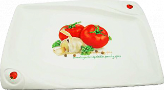 Блюдо для закусок MS20_0010 (25x17x2 см) 1*1*32