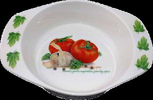 Блюдо круглое(20х15.5х4.5см) MS07_0035