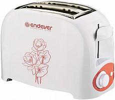 Тостер электрический Endever Skyline ST-110, белый, 6 шт/уп