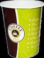 Стакан  ВСП 250мл.(Чай-Кофе)+ крышка с пит. д.80