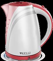 Пластмассовый электрический чайник KL-1301 (1x8)
