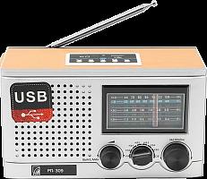 """Радиоприемник """"БЗРП РП-309"""", бат. 4*R20 (не в компл.), 220V, USB, SD,"""