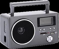 """Радиоприемник """"Сигнал РП-204"""", бат. 4*R20 (не в компл.), 220V, USB, SD, дисплей"""
