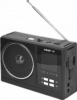 "Радиоприемник ""Эфир-10"", бат.2хR20 (не в компл.), 220V, акб900мА/ч, USB, SD, micro-SD, 2 светод.фон."