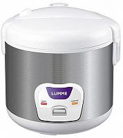 Мультиварка LUMME LU-1432 серебро/белый