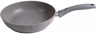 Сковорода  22 см  KUKMARA смс227а, светлый мрамор