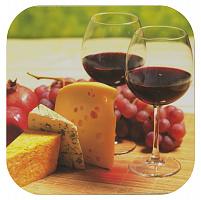 Подставка под горячее Сыр и Вино С-2