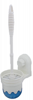 Ёрш для туалета Суперлок, пластик, вакуумное крепление 9,8х12,8х35,2см, С001356 542-074