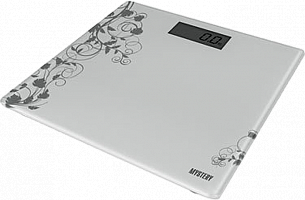 Весы напольные электронные MYSTERY МЕS-1808/серый