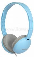 Накладные наушники Smartbuy KIDS, детские: с огранич громкости -80дБ, 40мм, синие (SBE-610)/40
