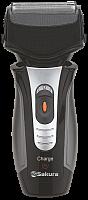 Бритва электрич SA-5402BK 3D триммер сух.бритьё аккум