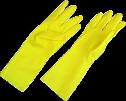 Перчатки латексные с ХБ напылением ЕХ, p-p L, 12/120 (3698 из короба 12/120)