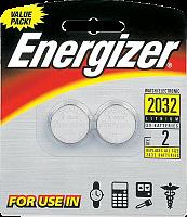 2032 Energizer Miniatures lithium CR 2032 FSB 2BLэлемент питания