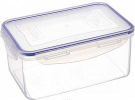 Контейнер пластиковый с клипсами 1,5 л, прямоугольный (32) 3-2