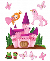 Metylan Creativ' Наклейка Замок принцессы, 47 х 67 см