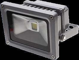 Прожектор светодиодный КОСМОС (мощн.-10Вт, кол-во led-1шт., св.поток-900лм., цв.т-ра-2700к,