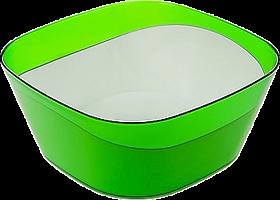 """Салатник двухцветный """"Valery"""" 1л (яблоко) (двухцветное литье) 218-266 14651000 ИК"""