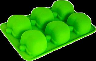 "Форма для выпечки из силикона ""Яблоки"" 26х17,5х4 см 6 ячеек MARMITON 16113/20"