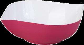 """Салатник двухцветный """"Estel"""" 1,5л (фламинго) (двухцветное литье) 218-263 10649000 ИК"""