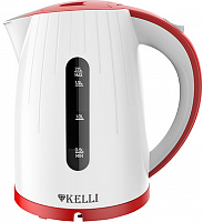 Пластмассовый электрический чайник KL-1302 (1x6)