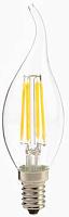 Лампа светодиодная Спутник LED CА37 – 4W/3000K/E14/Filament (1/10/50)