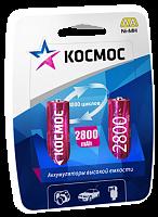 Аккумулятор КОСМОС R6 2800mAh Ni-MH