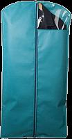 Чехол для костюмов и платьев с ПВХ-окном, на молнии, размер 120*60 см, П-08 ,1/20 (11817 из ко