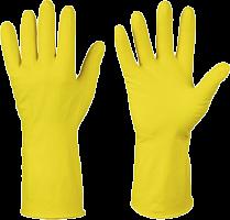 Перчатки латексные с ХБ напылением ЕХ, p-p XL, 12/120 (3699 из короба 12/120)