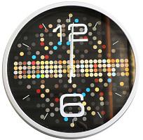 Часы настенные, пластик, 24,5х4см, 1хАА, Мультицвет 2 581-650