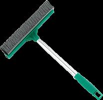 Окномойка VETTA со стальной ручкой 25см зеленая арт.KFC002 , 444-018