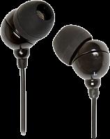 Внутриканальные стерео наушники SmartBuy® COLOR TREND, провод 1.2м, черные (арт. SBE-1100)20/320
