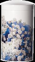 Банка д/сыпучих продуктов Деко Голубые цветы М1374