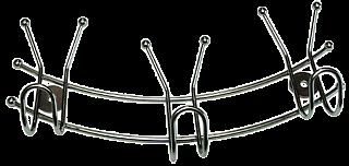 Вешалка с 3-мя крючками 3580 (8138 из короба 1/48)