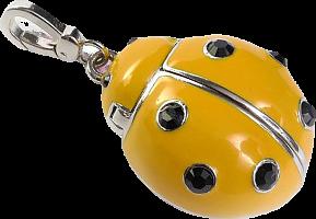 Флэш-диск  QUMO 16 Gb Charm - Ladybird Yellow (Божья коровка)