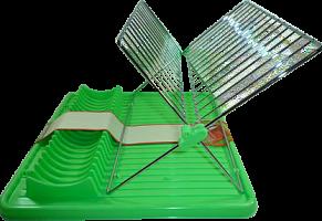 Сушилка д/посуды с поддоном 3 цв, AN52-102