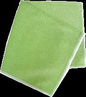Салфетка из микрофибры для кухни Антижир 17 * 23 см  9371 двусторонняя вес 22 г 85% полиэстер15% поли