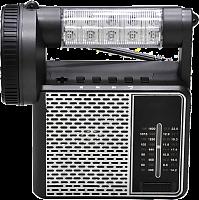 "Радиоприемник ""VIKEND PATRIOT"", бат. 4*AA (не в компл.), 220V, акб 1400мА/ч, USB, SD, 2 светод.фон"