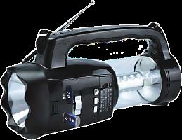 """Радиоприемник """"VIKEND FRIENDS"""", бат. 4*R20 (не в компл.), 220V, акб 1200мА/ч, USB, SD, 2 светод.фон."""