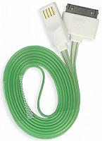 Дата-кабель Smartbuy USB - 30-pin для Apple, с индикацией заряда, длина 1,2 м (iK-412s)/500