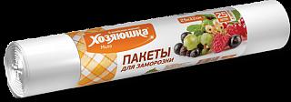 """Пакет для хранения и замораживания продуктов """"ХОЗЯЮШКА Мила"""" 3 л., 25шт 232-070/09009"""