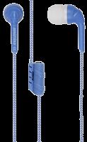 Внутриканальные наушники SmartBuy® FRIENDS с  разветвителем, синие (SBE-9220)