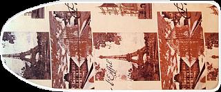 Чехол д/гладильной доски, 120*40 см, размер L,  С-03, 100% хлопок + поролон 3мм, 1/15 (11964 и