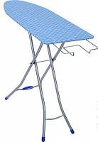 Доска гладильная НИКА Bell-Unior 1 Тефлон, ДСП, 4-х-опорная ножка, 112/34,5