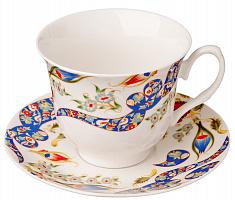 Набор чайный 2 пр.MILLIMI Илона, 240мл, костяной фарфор