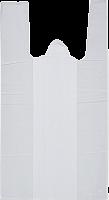 Пакет майка белая б/п 300 (2*75) *540 15мкм.142/2500 шт