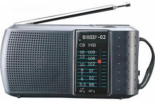 """Радиоприемник """"Эфир-02"""", бат. 2*АА (не в компл.)"""