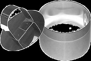 """Кулинарная форма """"Круг""""  7* 5 см с прессом, AN8-1"""