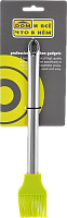 Кондитерская кисточка  GREEN 831-022  (силикон с металлом) (КОР-144ШТ)